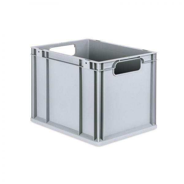 Eurobox 400 x 300 x 320 mm grau Kunststoff 30 Liter