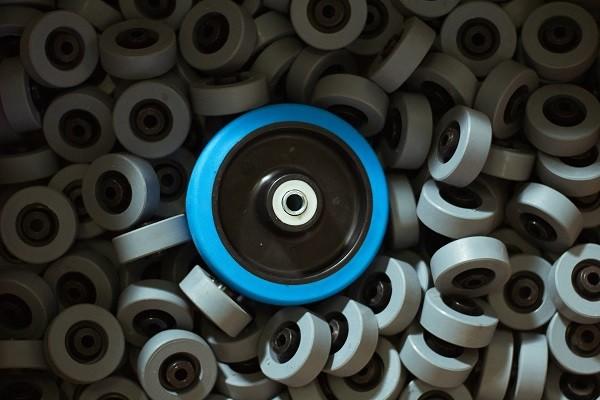 Blue-Wheel