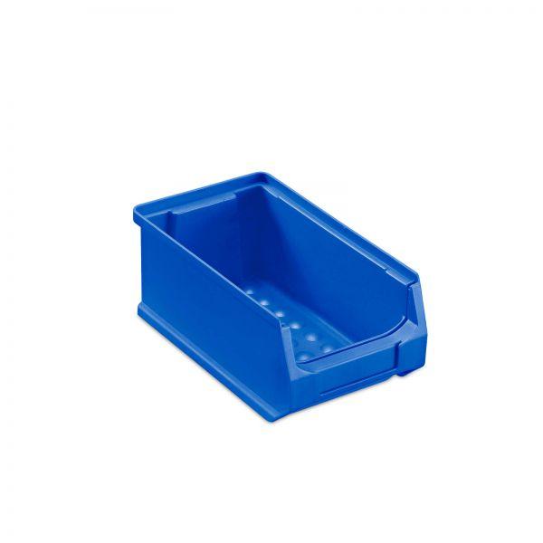 Sichtlagerbox Blau Größe 2