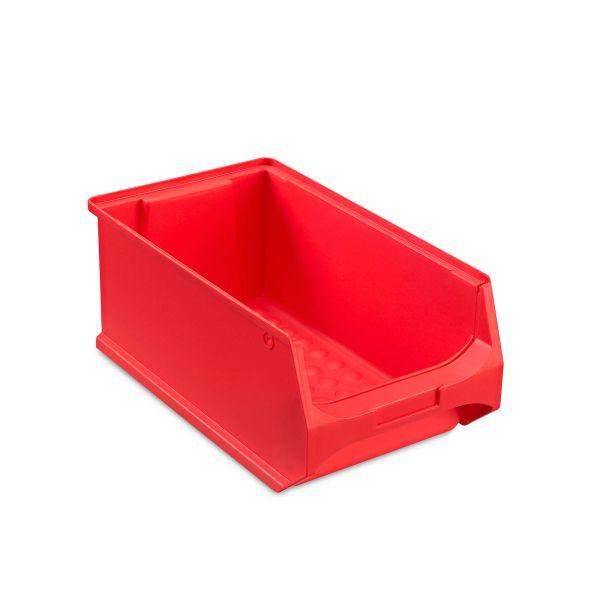 Sichtlagerbox Rot Größe 4