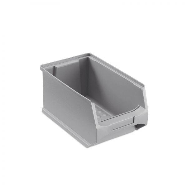 Sichtlagerbox Grau Größe 3