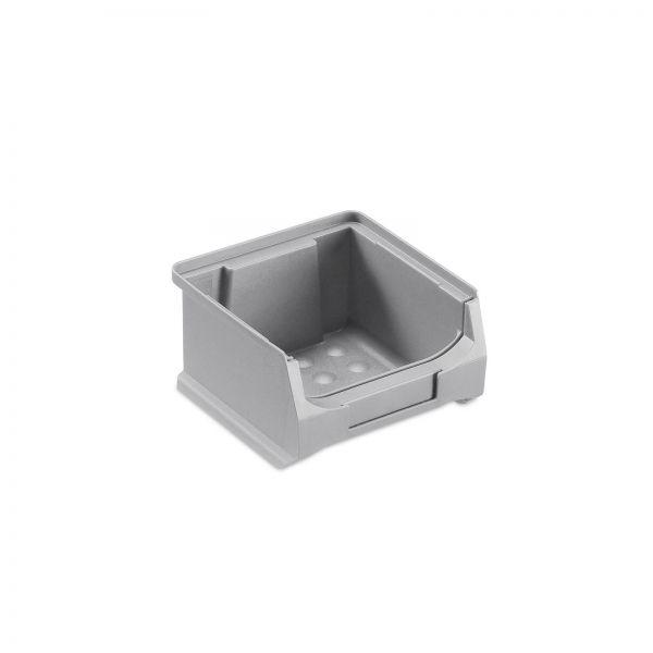 Sichtlagerbox Grau Größe 1