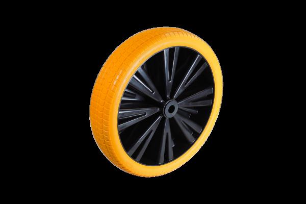 Flex Lite Ersatzrad - PU Schubkarrenrad 370 Gelb Rollenlager