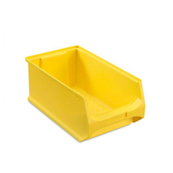 Sichtlagerbox Gelb Größe 4