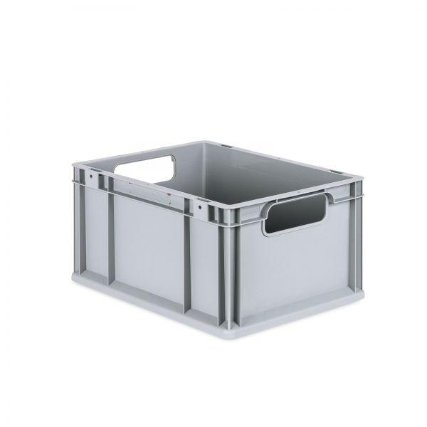Eurobox 400 x 300 x 220 mm grau Kunststoff 20 Liter