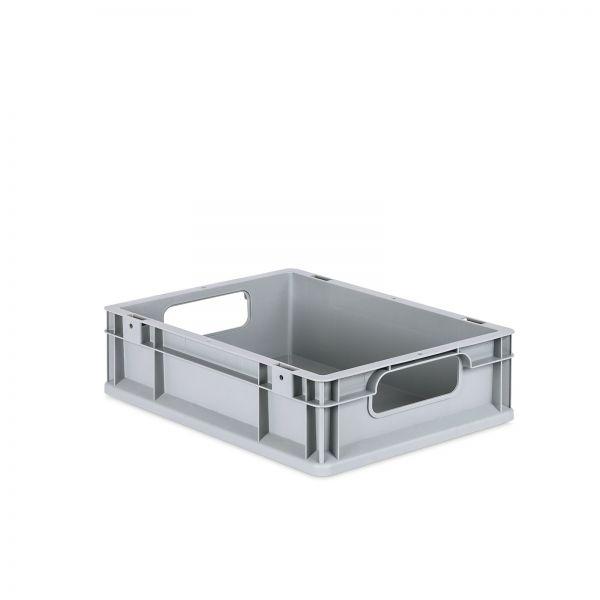 Eurobox 400 x 300 x 120 mm grau Kunststoff 11 Liter